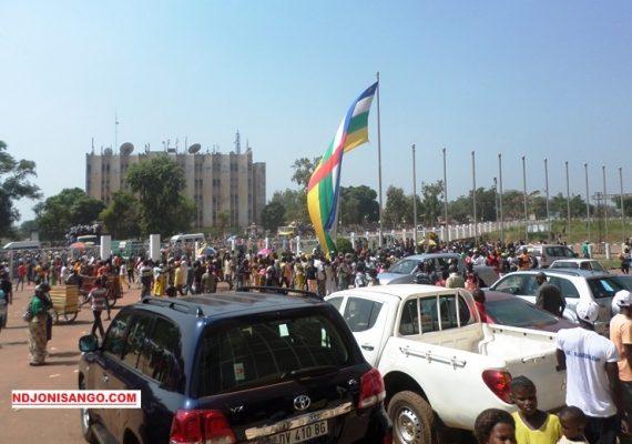 une vue partielle de Bangui la capitale centrafricaine@photo Erick Ngaba