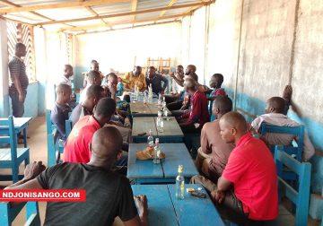 réunion des antibalaka@Erick Ngaba
