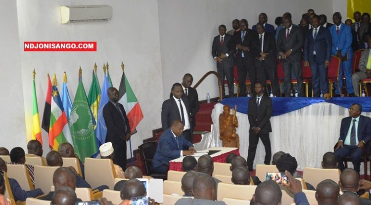 signature officielle d'accord de paix à Bangui@Erick Ngaba