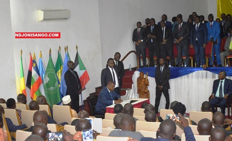 signature officielle d'accord de paix à Bangui@Erick Ngaba
