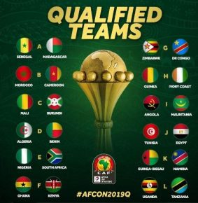 Éliminatoire CAN 2019 : Liste des 24 équipes qualifiées par poule- la RCA éliminée