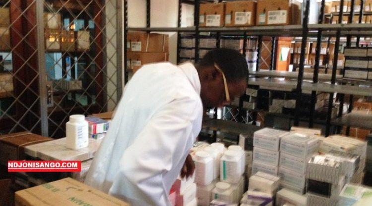 Dispositif d'un dépôt des médicaments de l'ASSOMESCA@Erick Ngaba