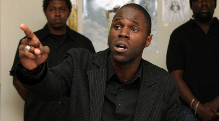 L'activiste panafricain, Kemi Seba