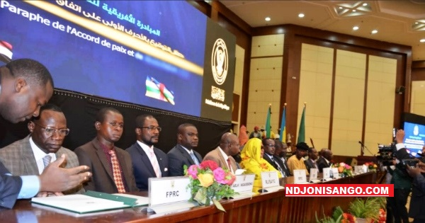 Paraph de l'accord de paix à Khartoum
