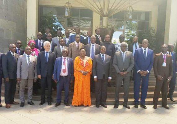 cloture des réunions des signataires de l'accord de ^paix à Addis-Abeba@Photo LMK