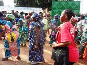 Oxfam_Une marche pacifique des femmes à Bangui_Centrafrique