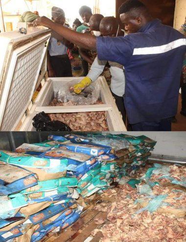 Mairie de Bangui: Des produits avariés découvert à la société commerciale FOBERB