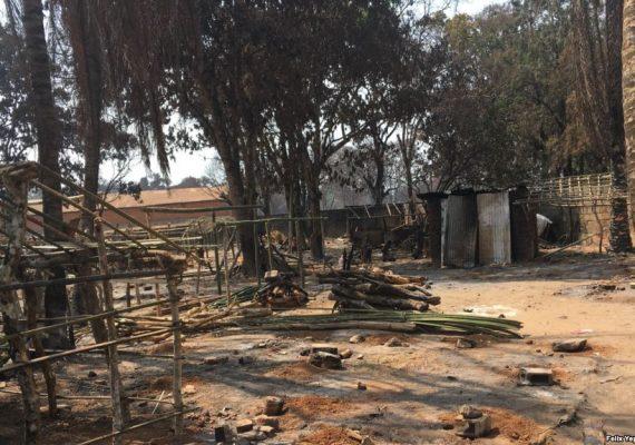 Camps des victimes de conflits armés