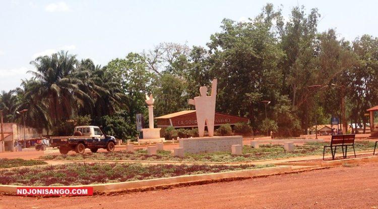 Centre ville de Bambari au point zéro/ mars 2019@photo Erick Ngaba