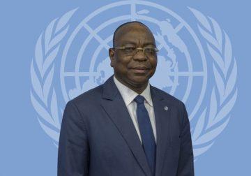 Mankeur Ndiaye, Chef de la Minusca et Repésentant Spécial du Secrétaire Général de l'ONU en Centrafrique@photo twitter Minusca