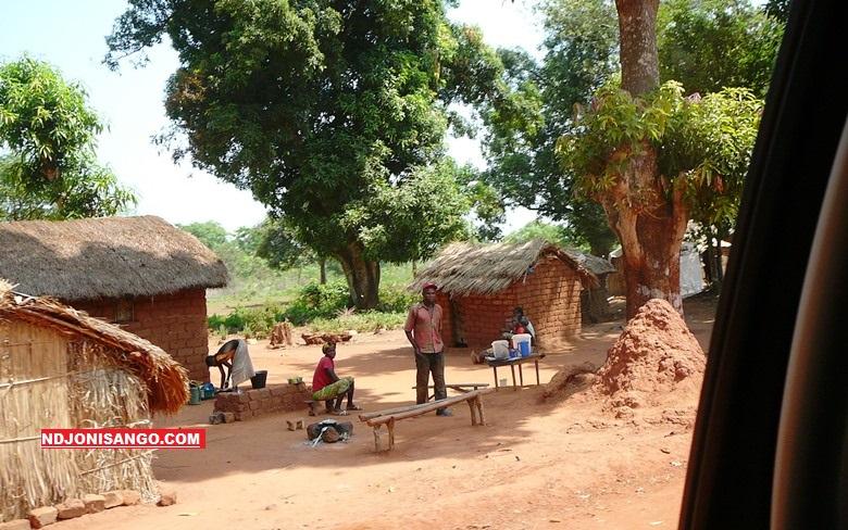 Une vue de parage de l'a&rodrome de Bambari@photo Erick Ngaba