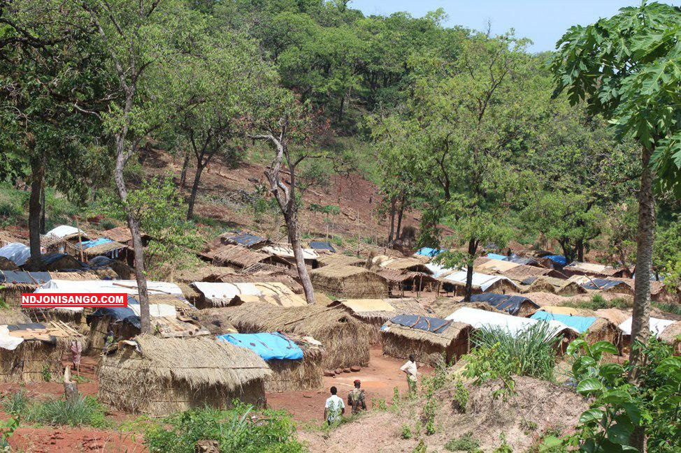 Village site minier de Krandja à 4km de Ndachima/mars 2019@Erick Ngaba