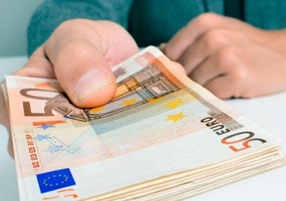 des billets d'Euros