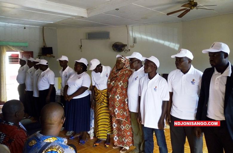 Présentation des membres du bureau du Comité de soutien «Touadera Doit»