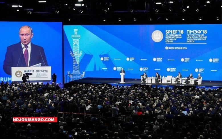 Forum économique en Russie où prend par la RCA