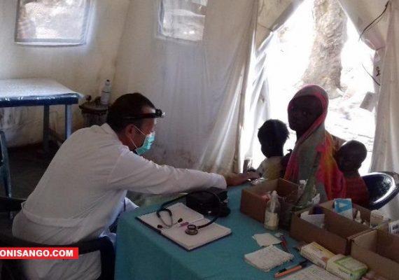 Une clinique installée par les Russes à Ouadda à l'Est de la RCA
