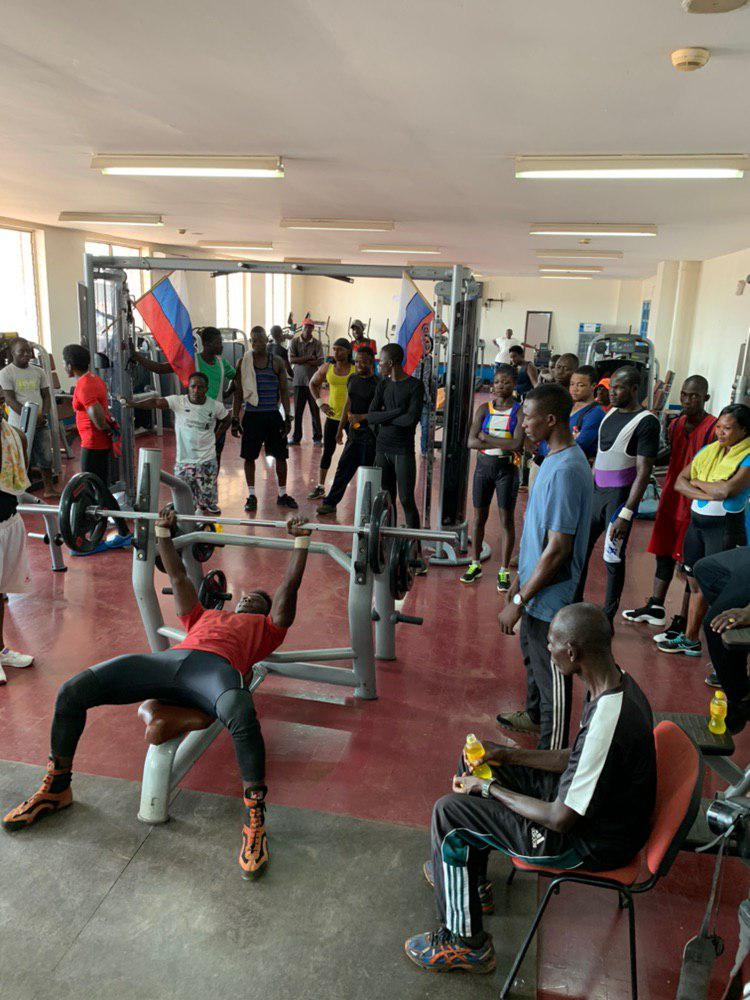 les athlètes de musculation