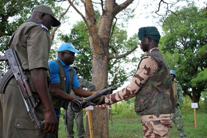 Centrafrique-DDRR-Ndjoni-Sango