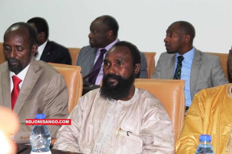 Alkatim Mahamat, leader du mouvement rebelle MPC lors des pourparlers de paix à Khartoum@image Erick Ngaba
