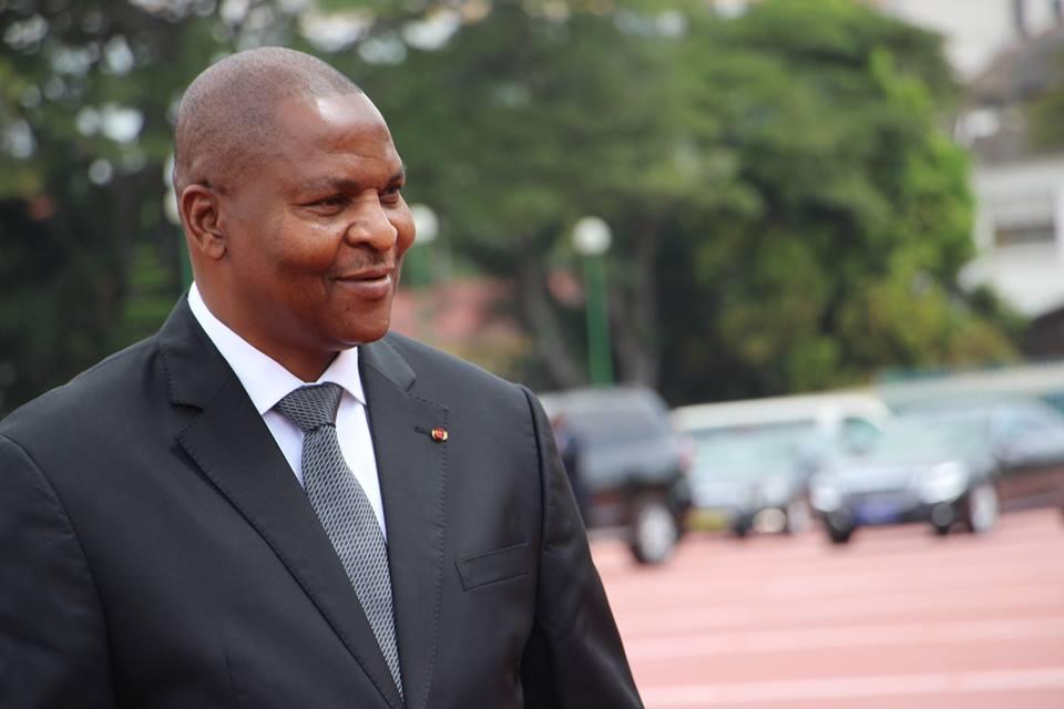 Faustin Archange Touadera, chef de l'Etat centrafricain