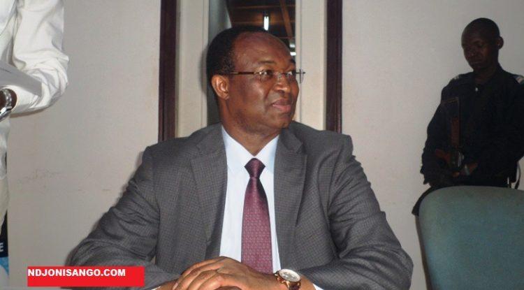 Anicet Georges Dologuelé, président de l'URCA et chef de file de l'opposition@ photo Erick Ngaba