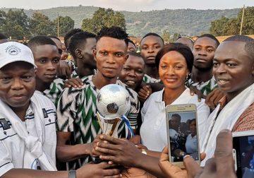 Retour de la cohésion sociale à Begoua à travers un match de football