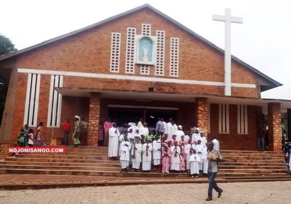 Célébration de l'assomption en la Paroisse Notre Dame d'Afrique de Bangui