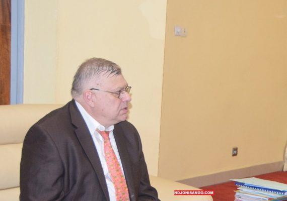 L'ambassadeur de la Russie en RCA, Vladimir Titorenko