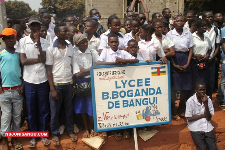 Centrafrique-école-Ndjoni-Sangoe la journée des Martyrs en 2017