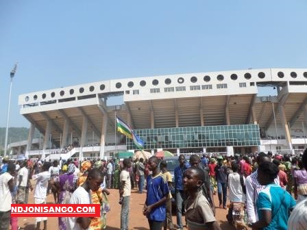 Complexe sportif 20.000 places de Bangui
