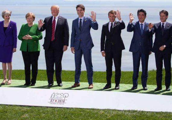 Les dirigeants occidentaux au sommet du G7 au sud de France