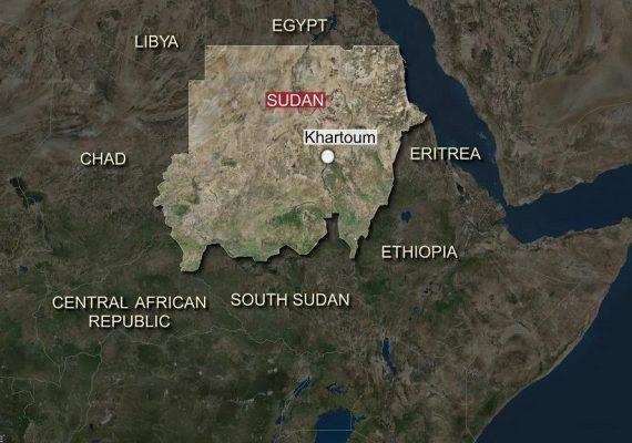 Frontière soudan, Centrafrique et la Lybie
