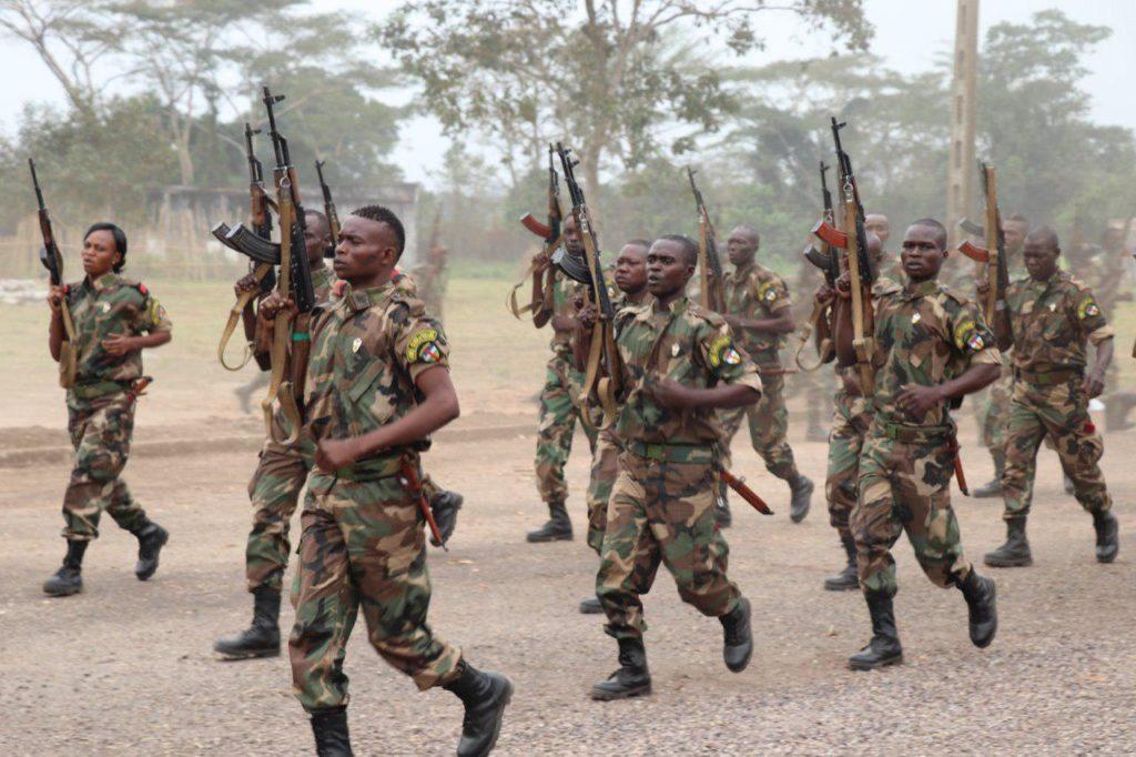 Retour des Forces Armées Centrafricaine à Bria