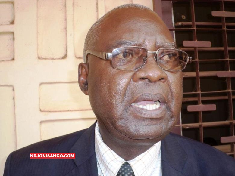 Simplice Mathieu Sarandji, premier secrétaire exécutif du MCU et ancien premier ministre centrafricain@photo Erick Ngaba en 2016