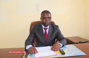 Evariste Ngamana, Rapporteur et Porte-parole du Mouvement Coeurs Unis