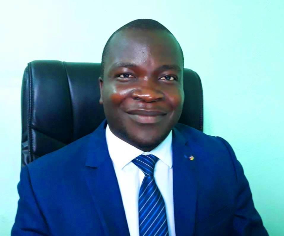 Fleury Junior Pabandji, Directeur Ordonnateur du Fonds national de l'environnement@photo facebook
