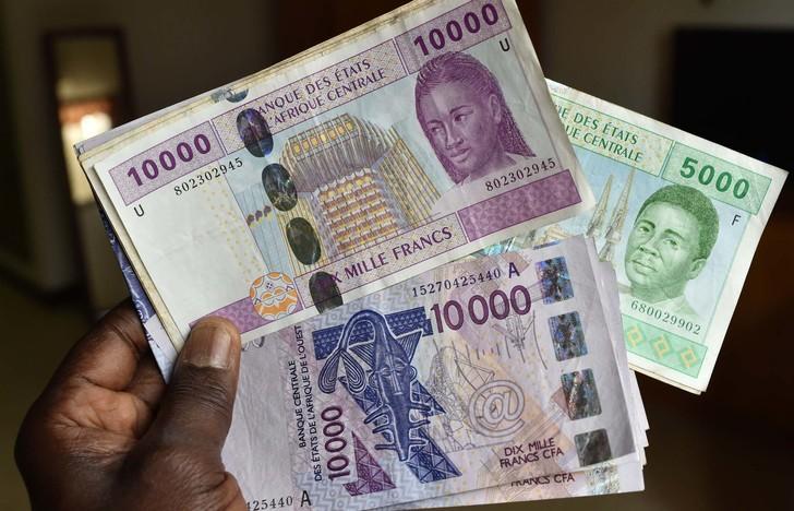 Franc CFA de l'Afrique centrale et de l'Afrique de l'ouest
