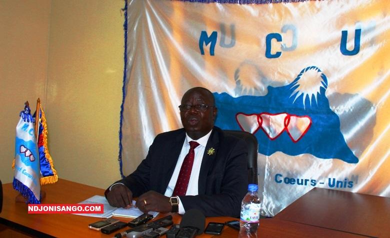 Jean Syphorien Mapénzi, Conseiller politique du Mouvement Coeurs Unis du président Faustin Archange Touadera@photo Erick Ngaba