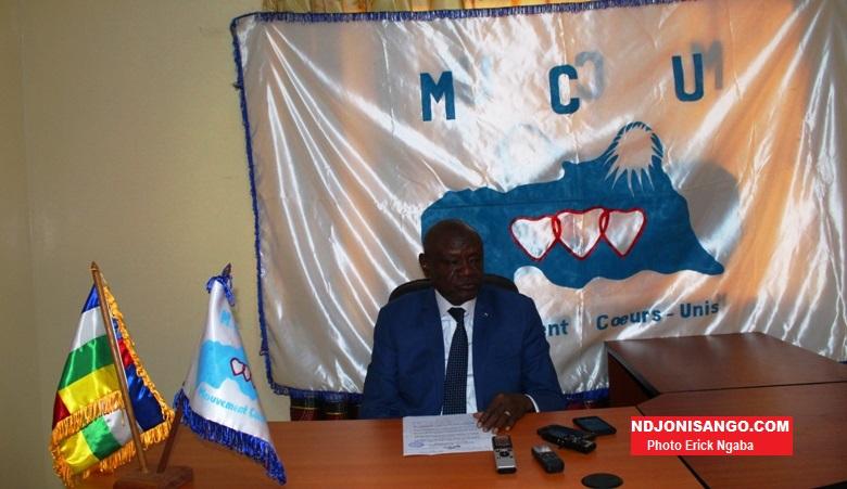 Moukadas Nour, ministre de l'éducation et Rapport Adjoint de MCU@photo Erick Ngaba