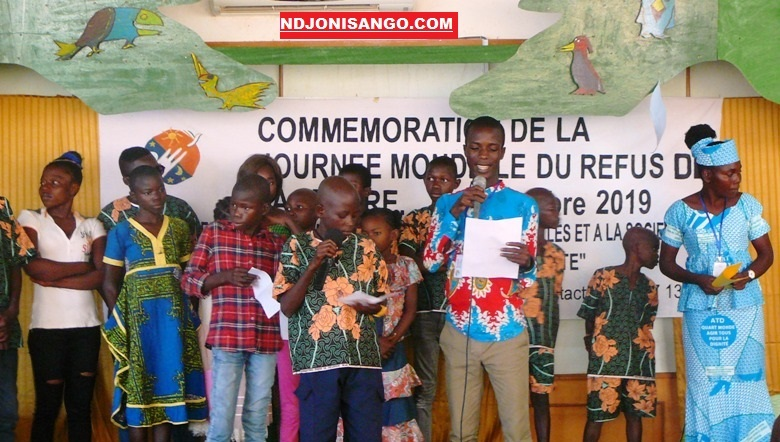 célébration de la journée mondiale du refus de la misère à Bangui