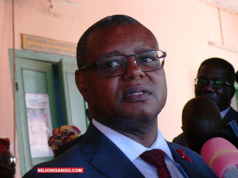 Pierre Somsé, ministre de la santé publique@photo Erick Ngaba