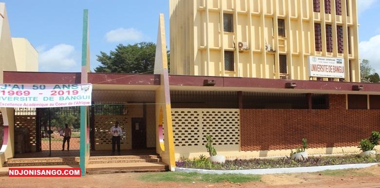 Le rectora de l'Université de Bangui@photo Marly Pala