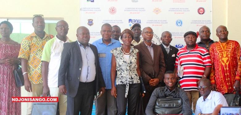 Les participants au café débat à Bangui sur le forum de Sotchi@photo Marly Pala