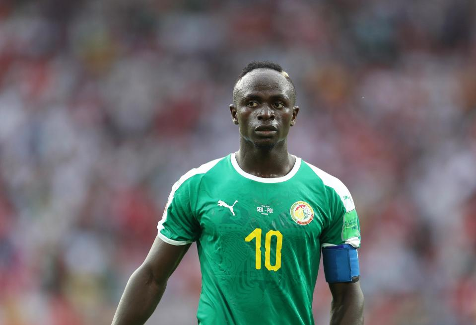 L'international Sénégalais Sadio Mané