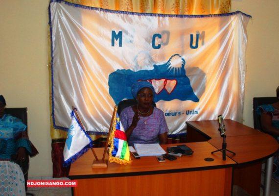 RCA: l'engagement des femmes en politique au sein du MCU