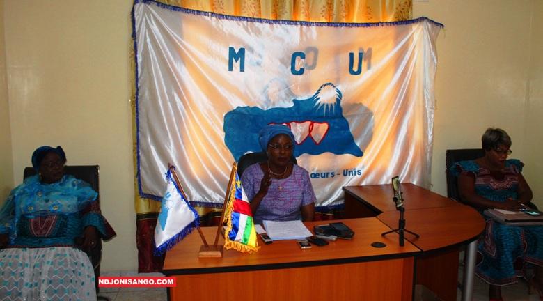 Virginie Baïkoua, Secrétaire exécutive nationale à la mobilisation féminie au MCU@photo Erick Ngaba