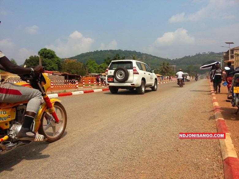 Avenue Faustin Archange Touadera à Bangui@photo Fiacre Salabé