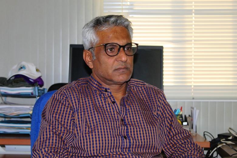 Imtiaz Hussain, chef de bureau de la MINUSCA basée à Bria@photo Marly Pala
