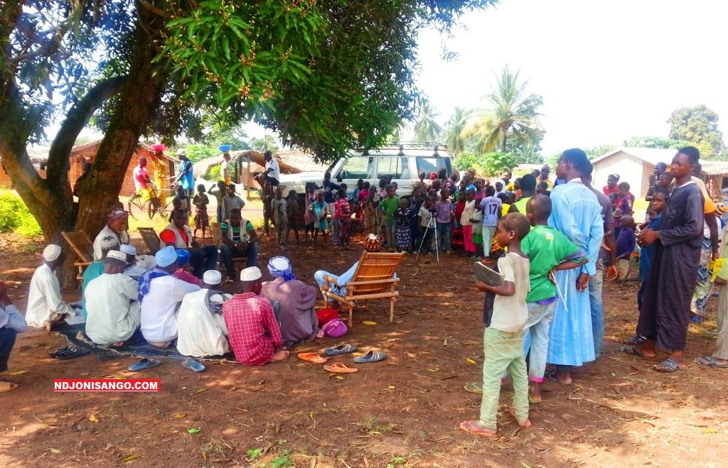 Les victimes des inondations à Zangba@photo Fiacre Salabé