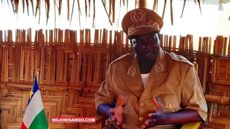 Victor De-Pascal Ouiabona Yankombona, Sous-préfet de la ville d'Alindao@photo Fiacre Salabé